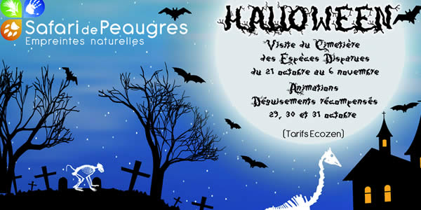 halloween safari de peaugres